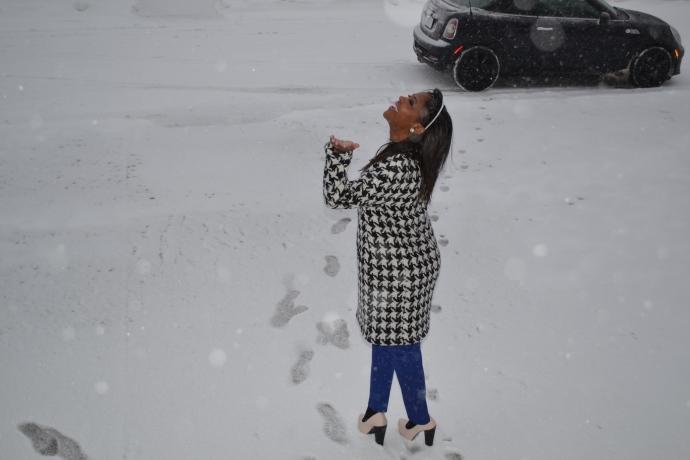 It's the Snow Fairy!!